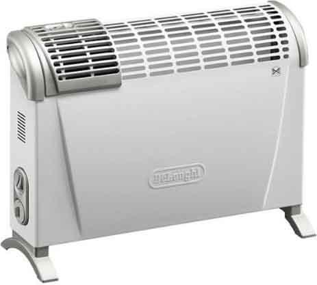 De longhi termoconvettore stufa elettrica per for Stufa a gas delonghi