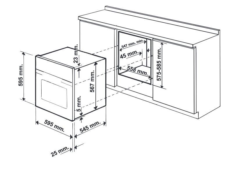 Hotpoint ariston forno incasso elettrico ventilato grill - Ariston forno incasso ...