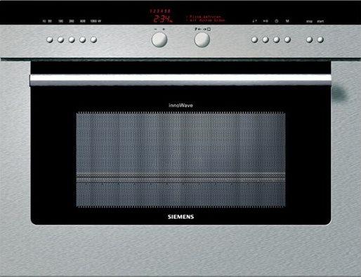 Siemens forno a microonde da incasso combinato con grill - Forno incasso 45 cm ...